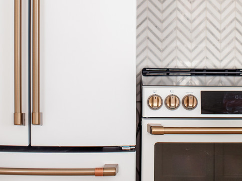 GE CAFE Appliances AC Interiors