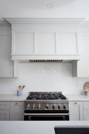 Custom Kitchen Hood Range AC Interiors D