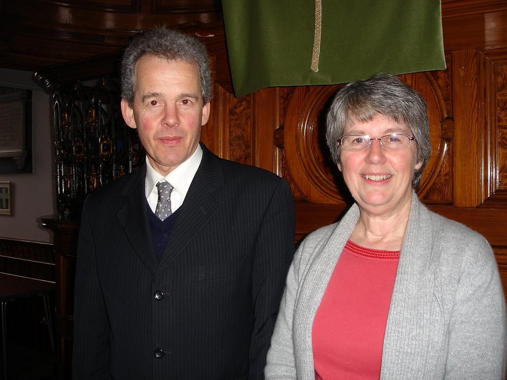 Rev James and Kath Skinner
