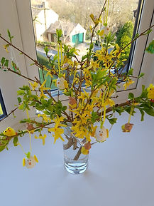 Eileen Arthur's Easter Tree