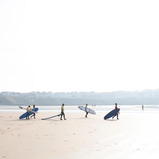 Fistral Beach Surf School