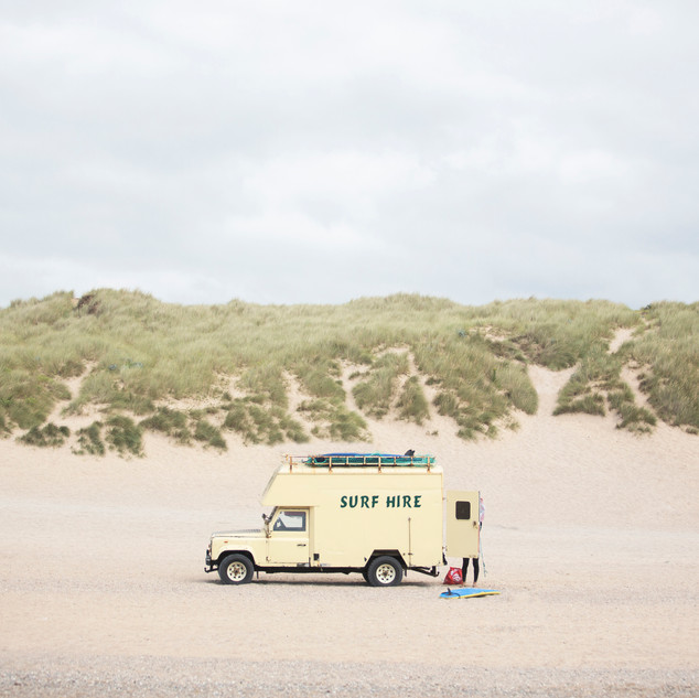 Surf Hire Truck