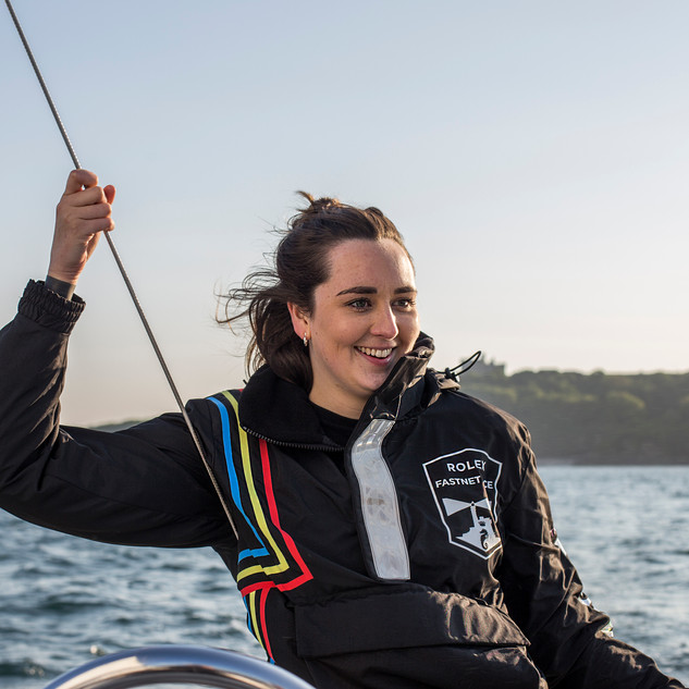 Abi at the Helm