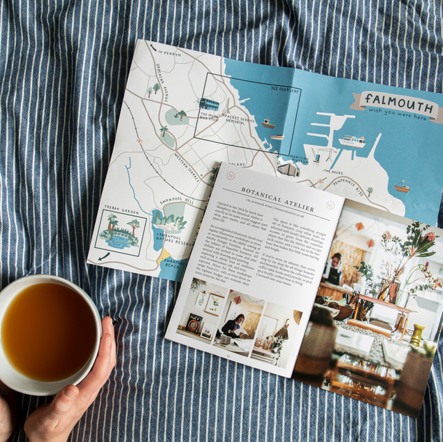 """""""Wish You Were Here"""" guide to Falmouth by Alice Tegg"""
