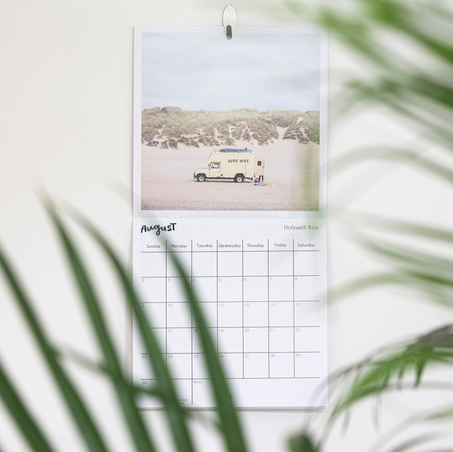 The Cornish Coast 2020 Calendar