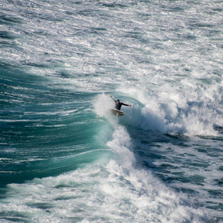 Porthtowan Surfer