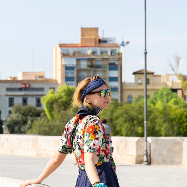 Claire in Valencia