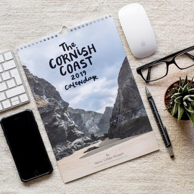 The Cornish Coast 2019 Calendar