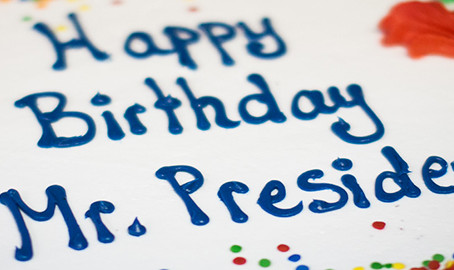 Happy Birthday Mr.President Tajana