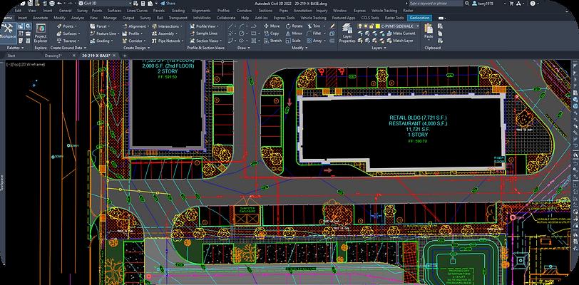 Civil 3D Commerical Design