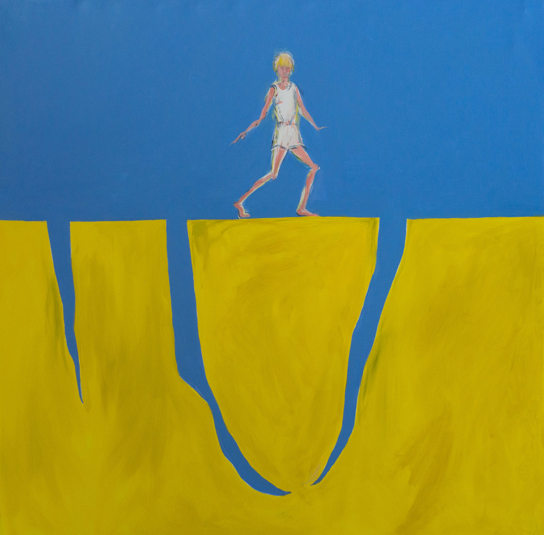 Blue and Yellow #3