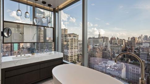 New York Penthouse -Master Bathroom