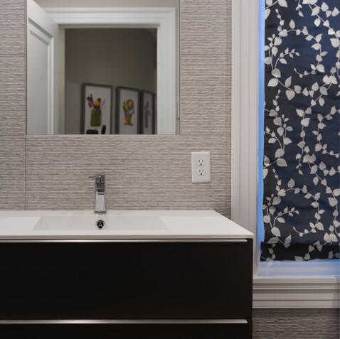 A masculine bathroom