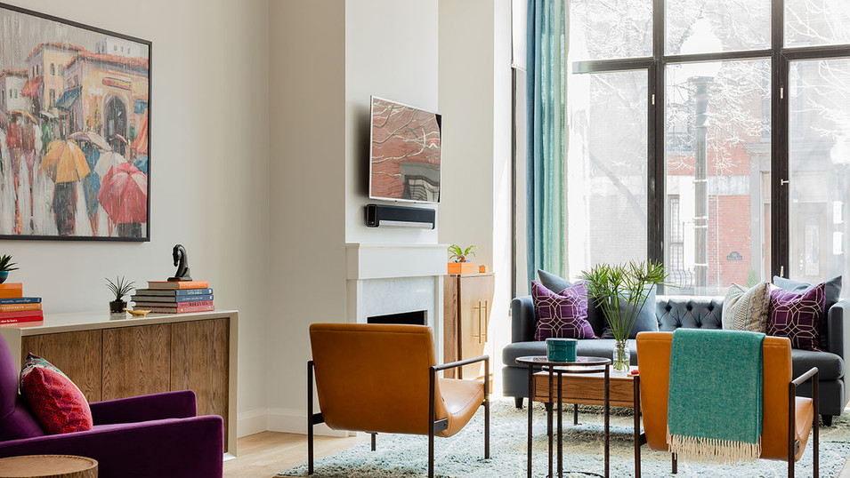 Shawmut Residence -Living Room