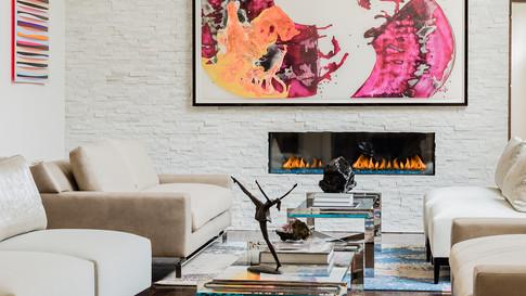 Sharon Residence -Living Room
