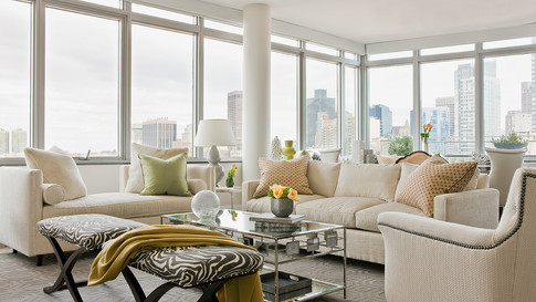 Charles Penthouse 1-Living Room