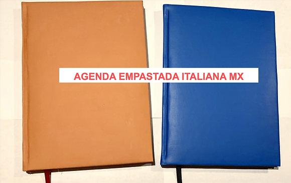 ENCUADERNADA ITALIANA MX SEMANAL caja c/30piezas