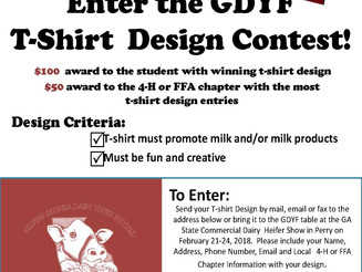 Reminder: T-Shirt Contest Due