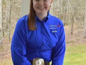 4th year Junior Board Officer Emma Newberry