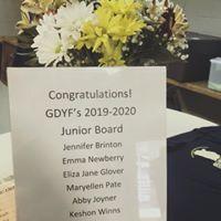 Congratulation to our 2020-2021 Junior Board!!