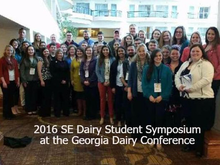 Dairy students from across the Southeast to attend Dairy Student Symposium on Jan. 15-16