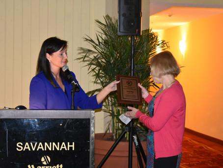 Cheryl Hayn Receives Friend of the Dairy Industry Award