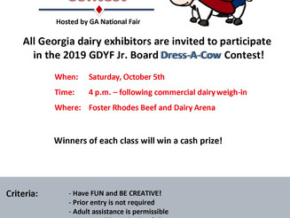 Coming Soon! Dress-A-Cow Contest