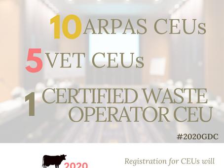 CEUs Available for GDC
