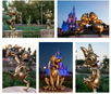 The Fab 50's Golden Statues are Making their Debut at Walt Disney World