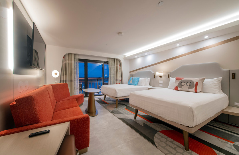 First Look Inside a Reimagined Guest Room at Disney's Contemporary Resort