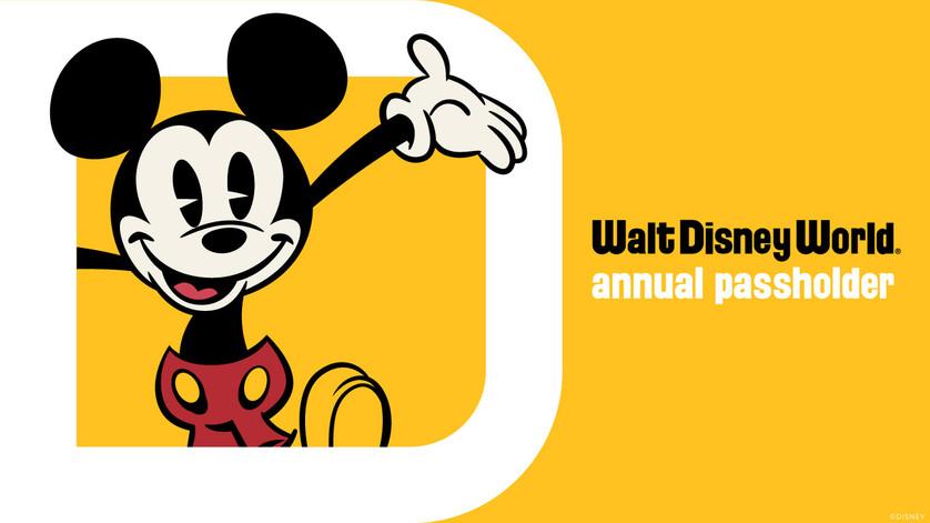 Walt Disney World Annual Passes Available September 8, 2021