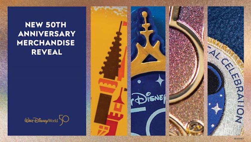 Sneak Peek: Walt Disney World Resort 50th Anniversary Merchandise Collection