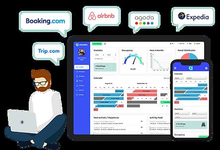 WiX Smoobu Integration Webseite