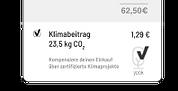 Ermögliche die CO2-Kompensation deiner Bestellung.