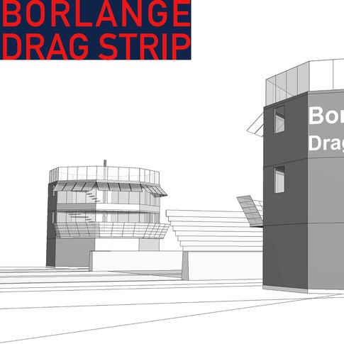 Borlange Drag Strip, Sweden.