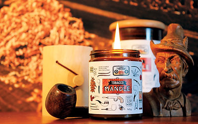 Tobacco Mandle | the Man's Candle