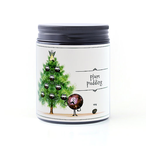 Plum Pudding candle 160g