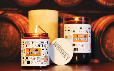 Whiskey Mandle | the Man's Candle