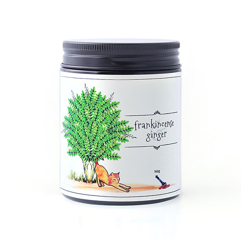 Frankincense & Ginger candle 160g