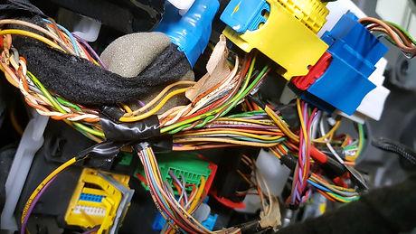 Engine control unit of the car, multicol