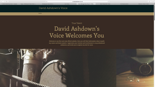 David Ashdown Voiceover