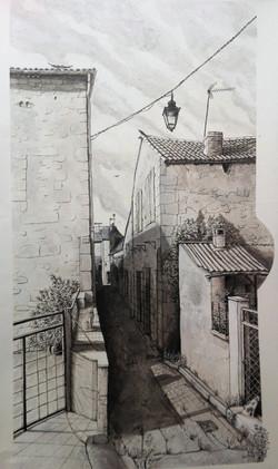 Une rue de Barbaste