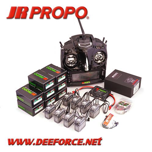 T44 SE Transmitter, RX(11BPX w/RA03 (Deans)), and 8 x S8911 Brushless Servo set