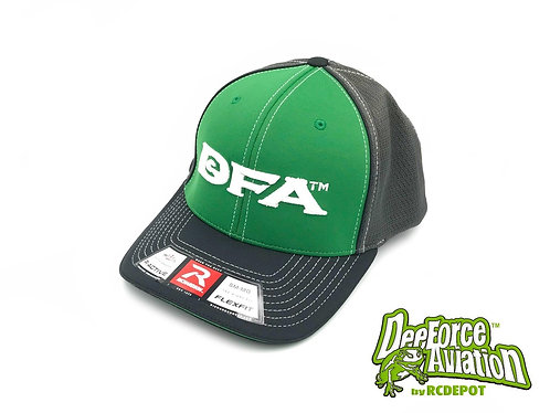 DFA/Dee Force Aviation Cap Green Size: LG-XL