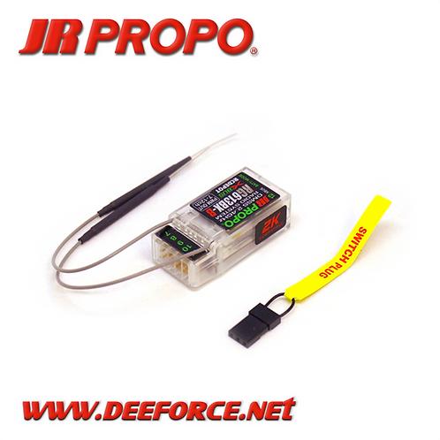 JR/DFA RG613BX-B 2K (R6B) add RX 7ch to 12ch DMSS/Xbus