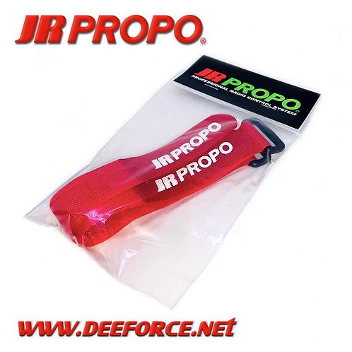 JR Propo Battery Strap Red 2pcs (Medium)