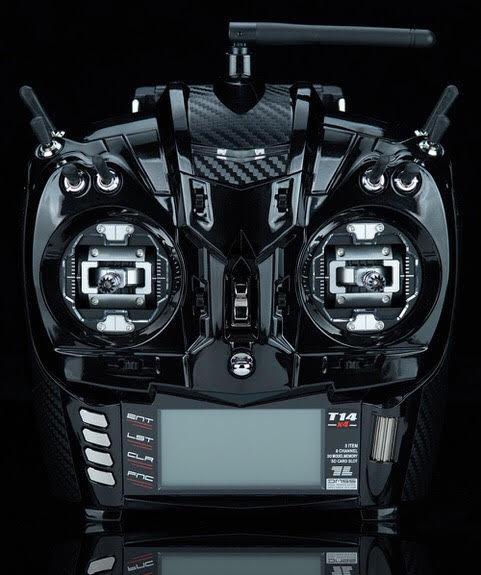 T14 x 4  CNC machined gimbals black Pearl