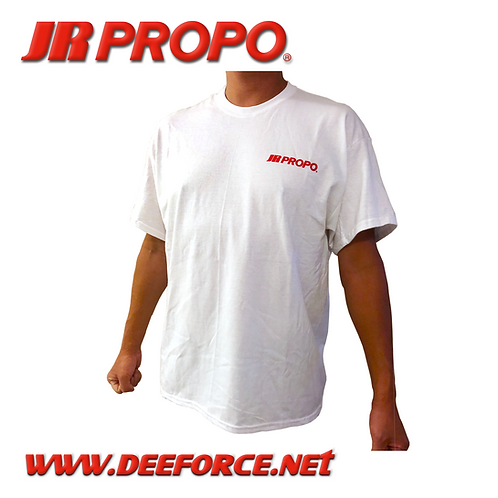 JR PROPO White T-Shirt 2XL