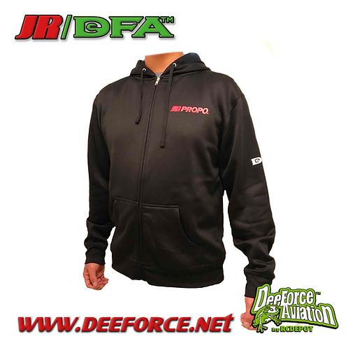 JR/DFA Racing Hoodie Black Medium