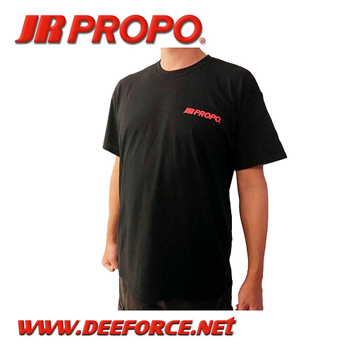 JR PROPO Black T-Shirt M